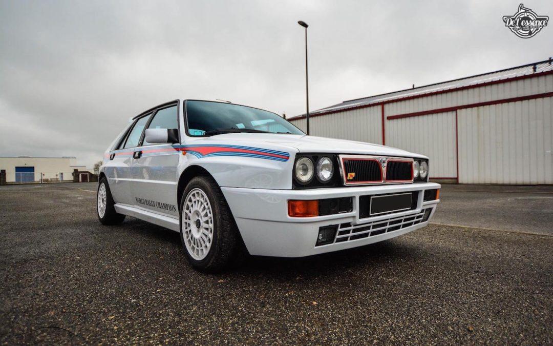 Lancia Delta HF Integrale Martini 6… Sans modération !
