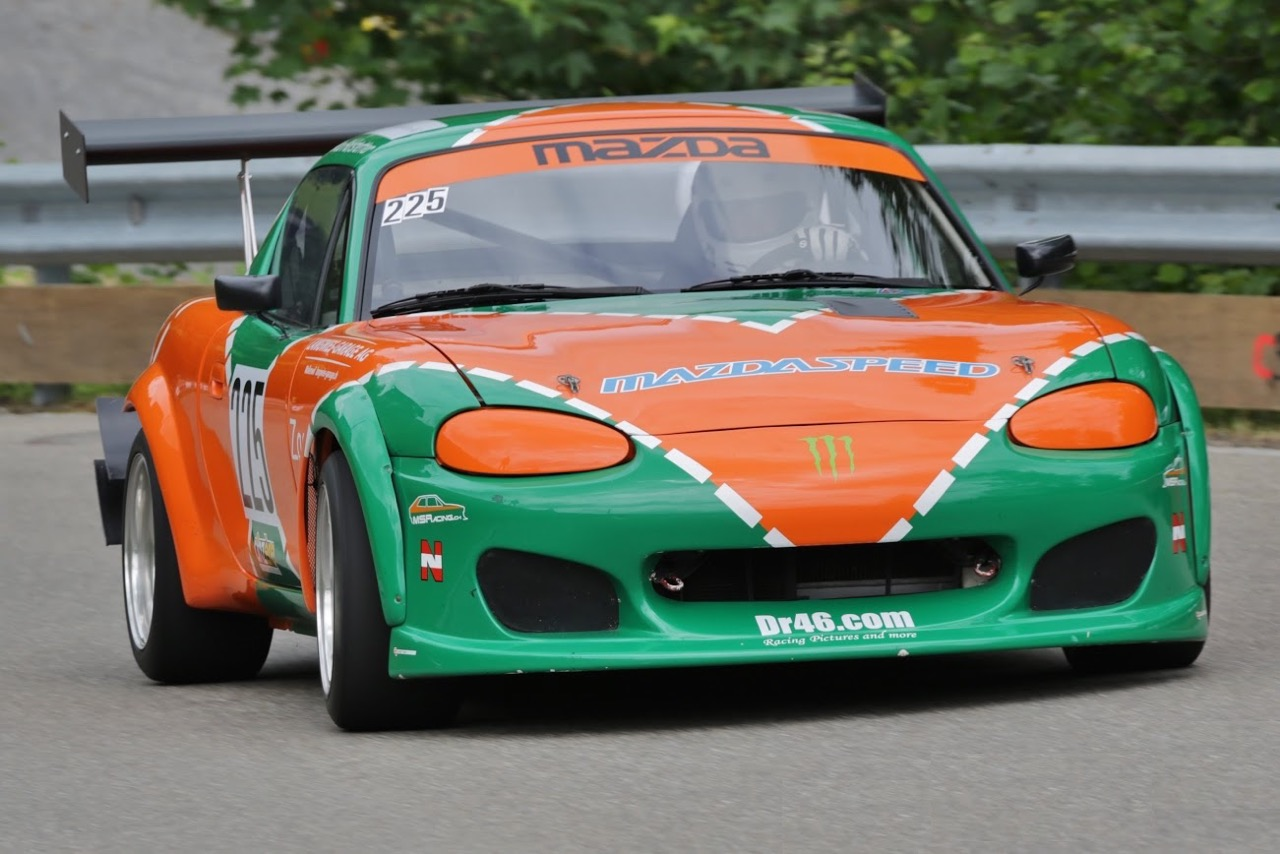 Hillclimb Monster : MazdaSpeed MX5 - Hommage à la 787B 8
