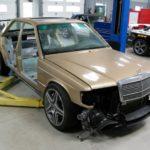 Mercedes 190 E 63 AMG Evo II... Frankestein Benz ! 13