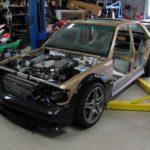 Mercedes 190 E 63 AMG Evo II... Frankestein Benz ! 34