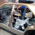 Mercedes 190 E 63 AMG Evo II... Frankestein Benz ! 8