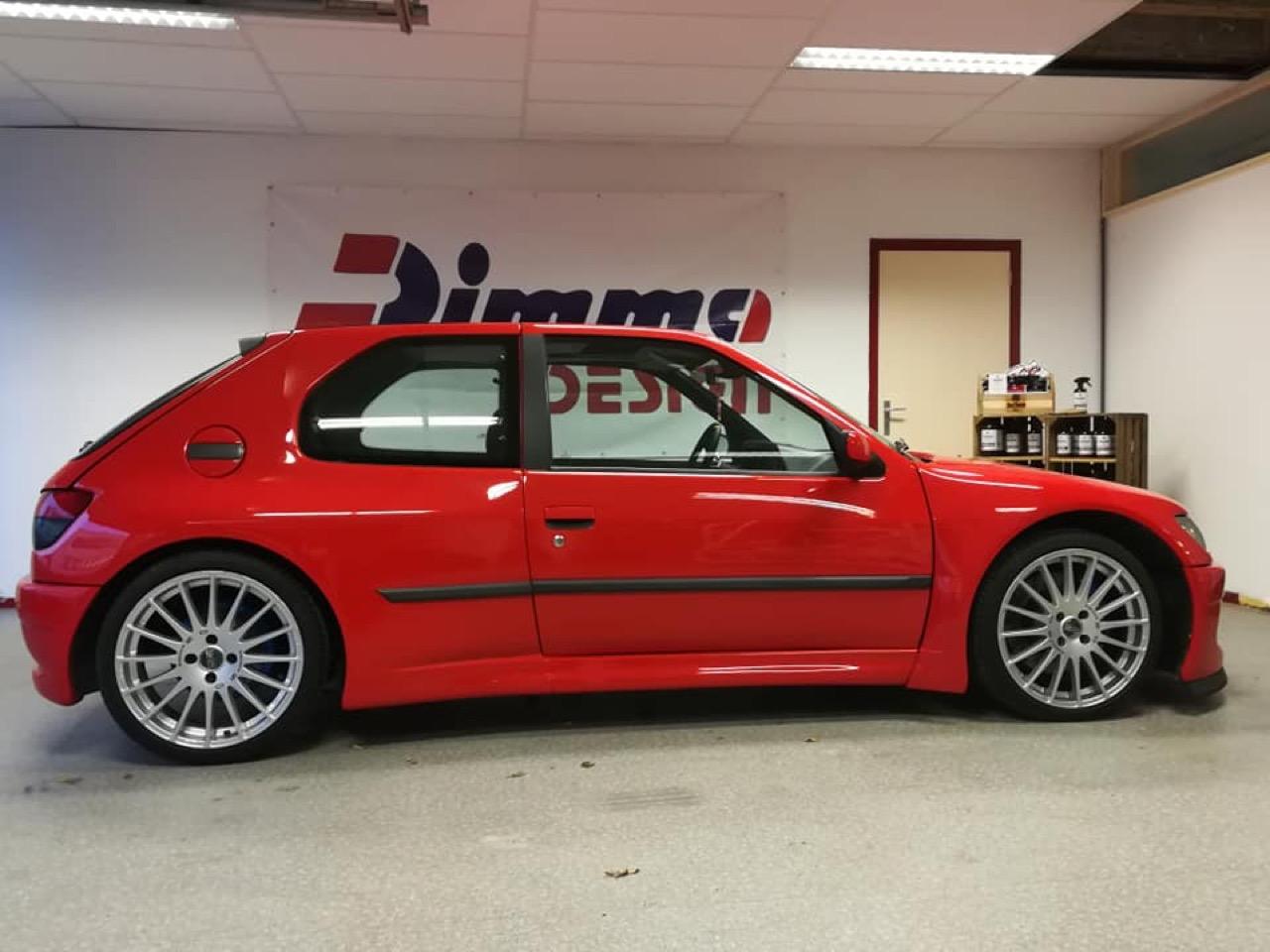 Peugeot 306 S16 - Fausse Le Mans ? Mais vraie Dimma ! 3