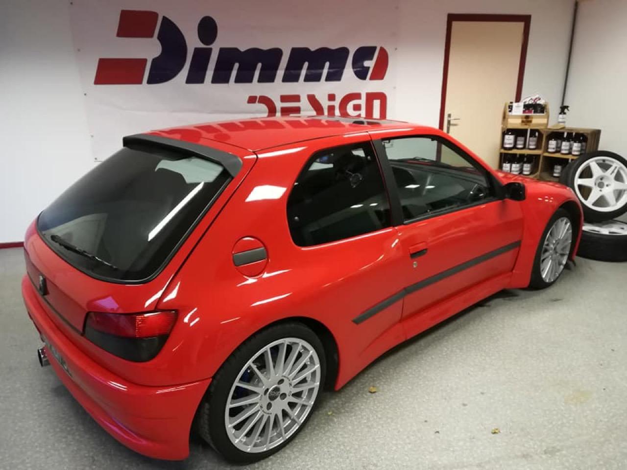 Peugeot 306 S16 - Fausse Le Mans ? Mais vraie Dimma ! 7