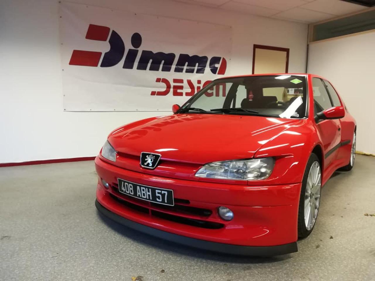 Peugeot 306 S16 - Fausse Le Mans ? Mais vraie Dimma ! 1