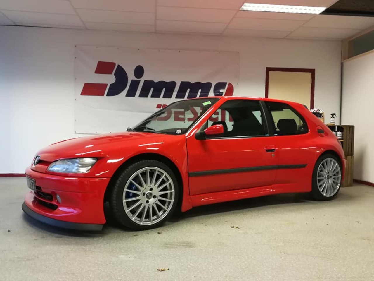 Peugeot 306 S16 - Fausse Le Mans ? Mais vraie Dimma ! 9