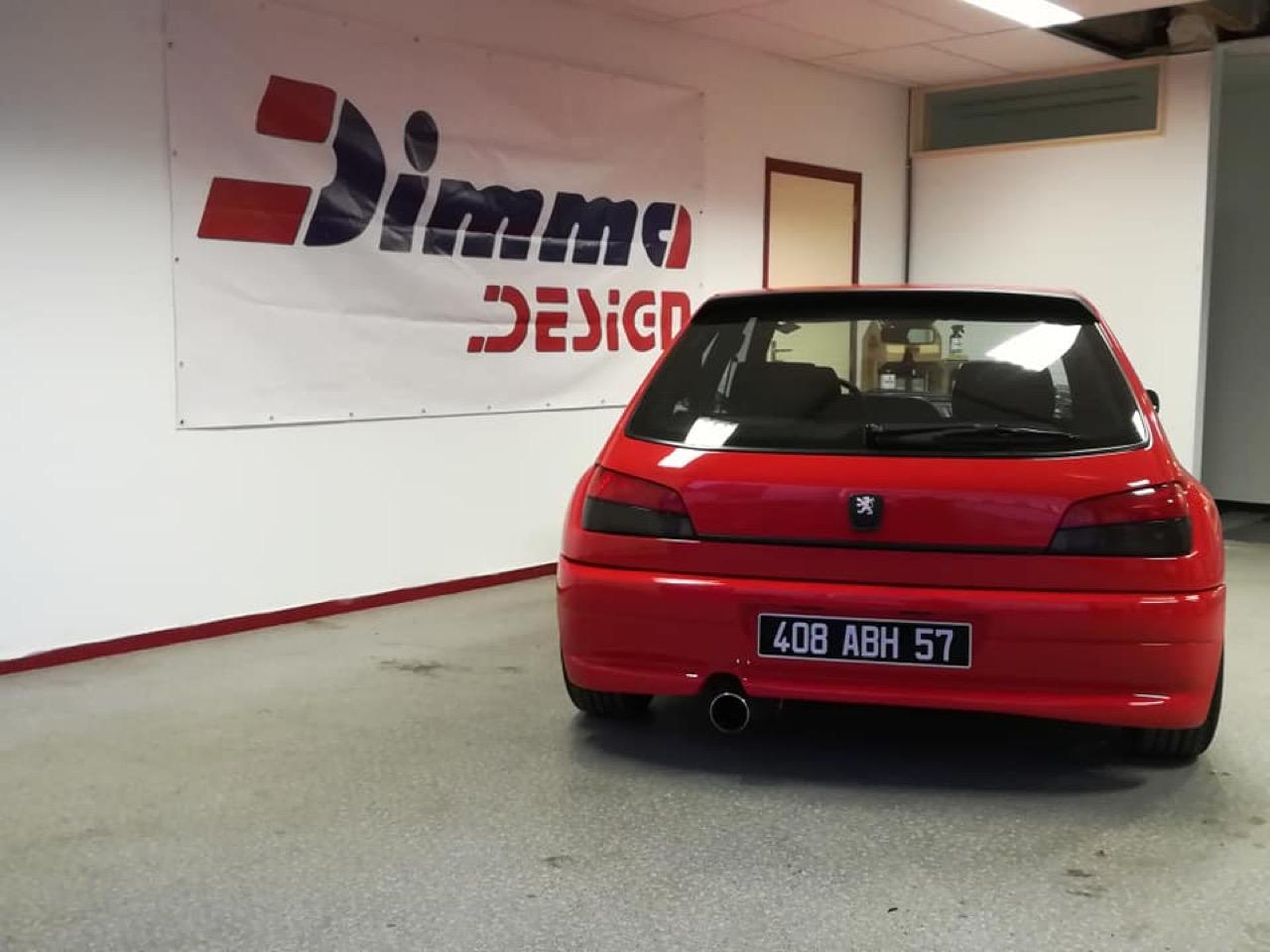 Peugeot 306 S16 - Fausse Le Mans ? Mais vraie Dimma ! 10