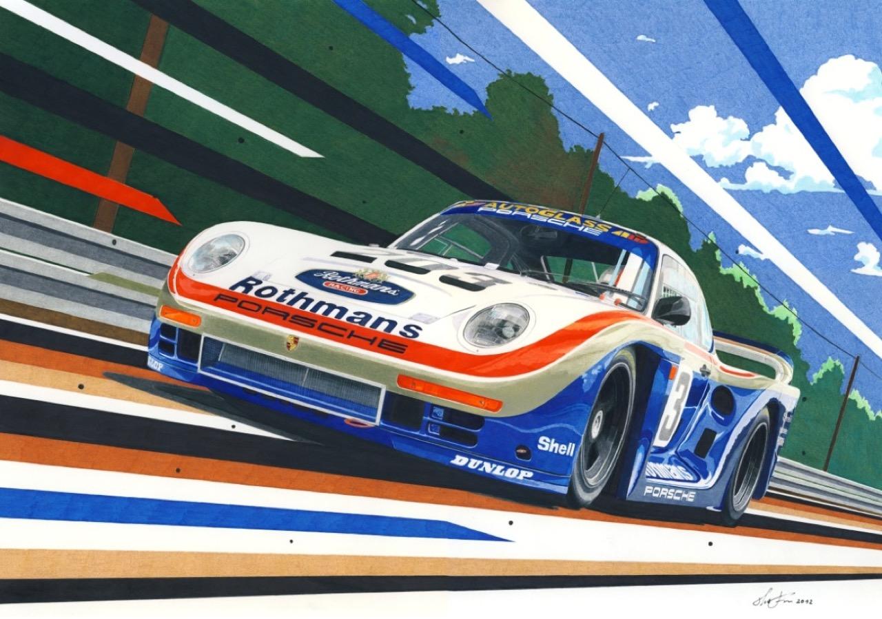 Porsche 961 - Unique... 11