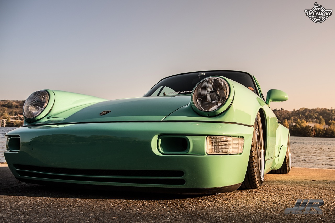 La Porsche 964 de Flow - Grenouille sur Air ! 38