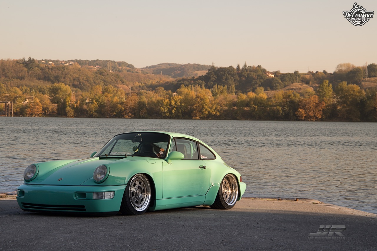 La Porsche 964 de Flow - Grenouille sur Air ! 34