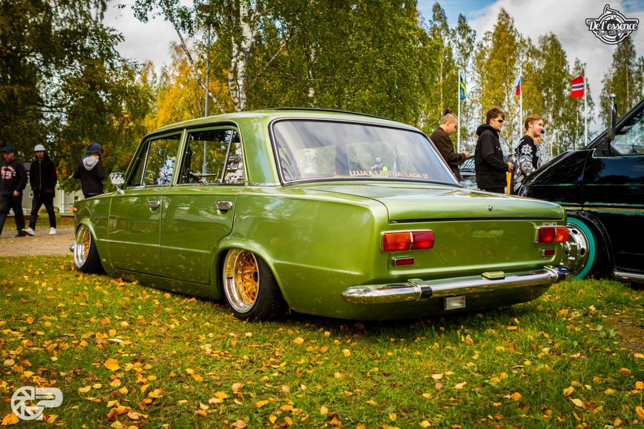 Slammed Lada 1200L - Soviet Static ! 1