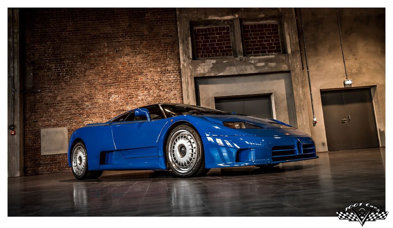 Bugatti EB110 : Supercar Made in Bugatti 8