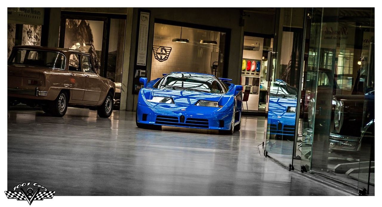 Bugatti EB110 : Supercar Made in Bugatti 4