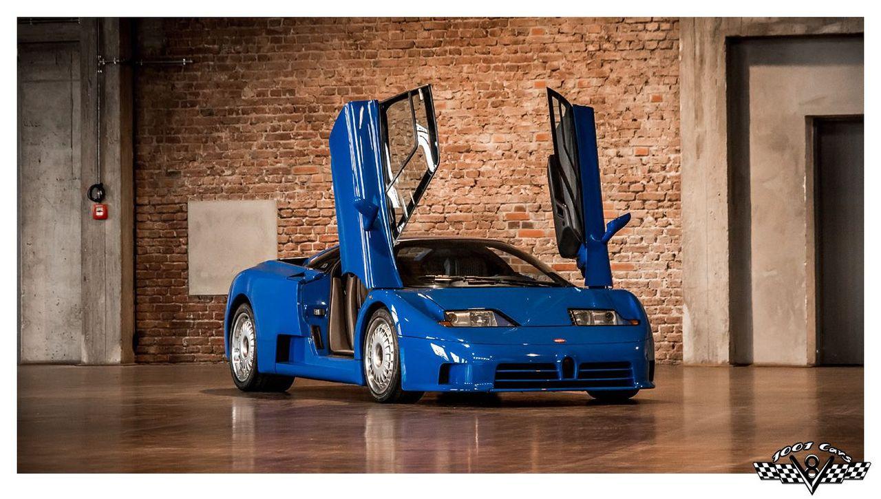 Bugatti EB110 : Supercar Made in Bugatti 1
