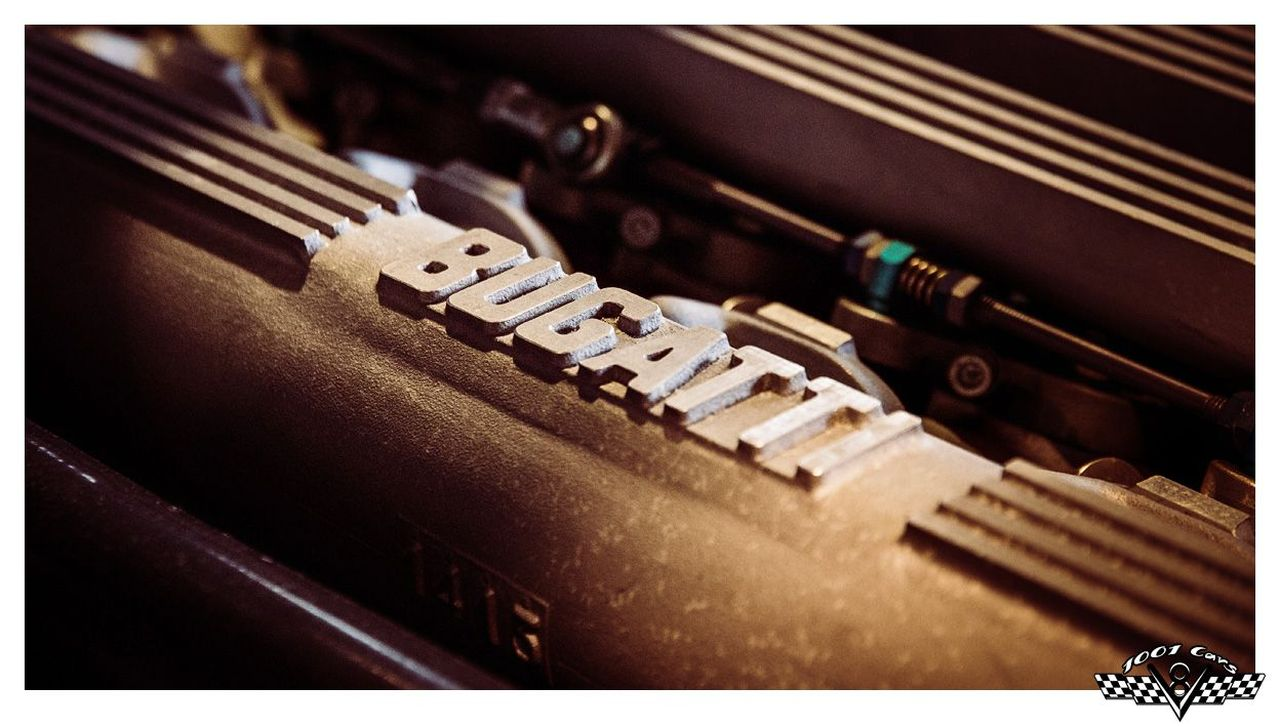 Bugatti EB110 : Supercar Made in Bugatti 45