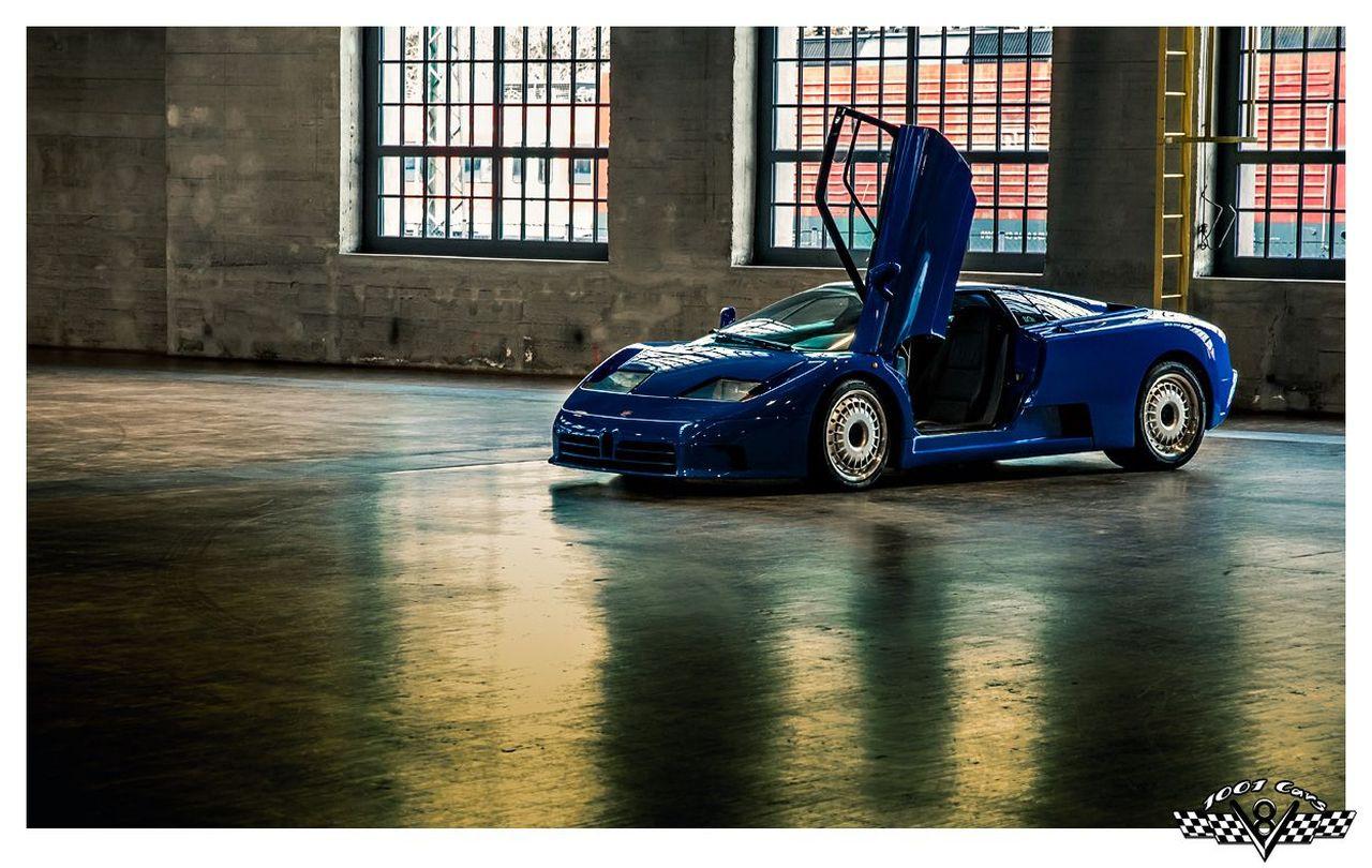 Bugatti EB110 : Supercar Made in Bugatti 14