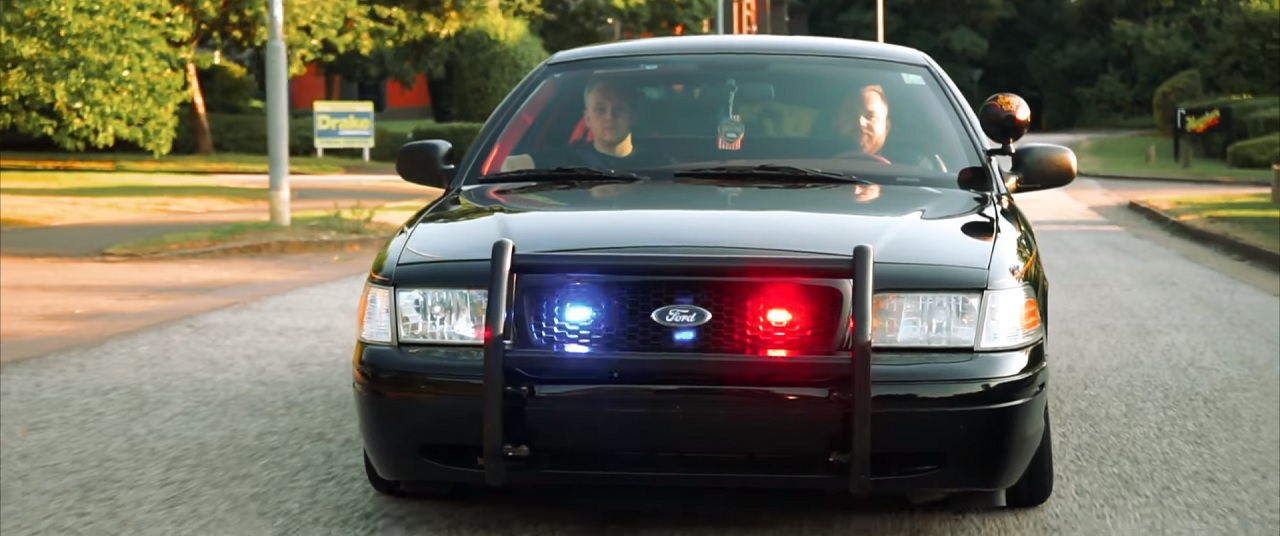 Bagged Ford Police Interceptor - To Protect & Shine ! 22