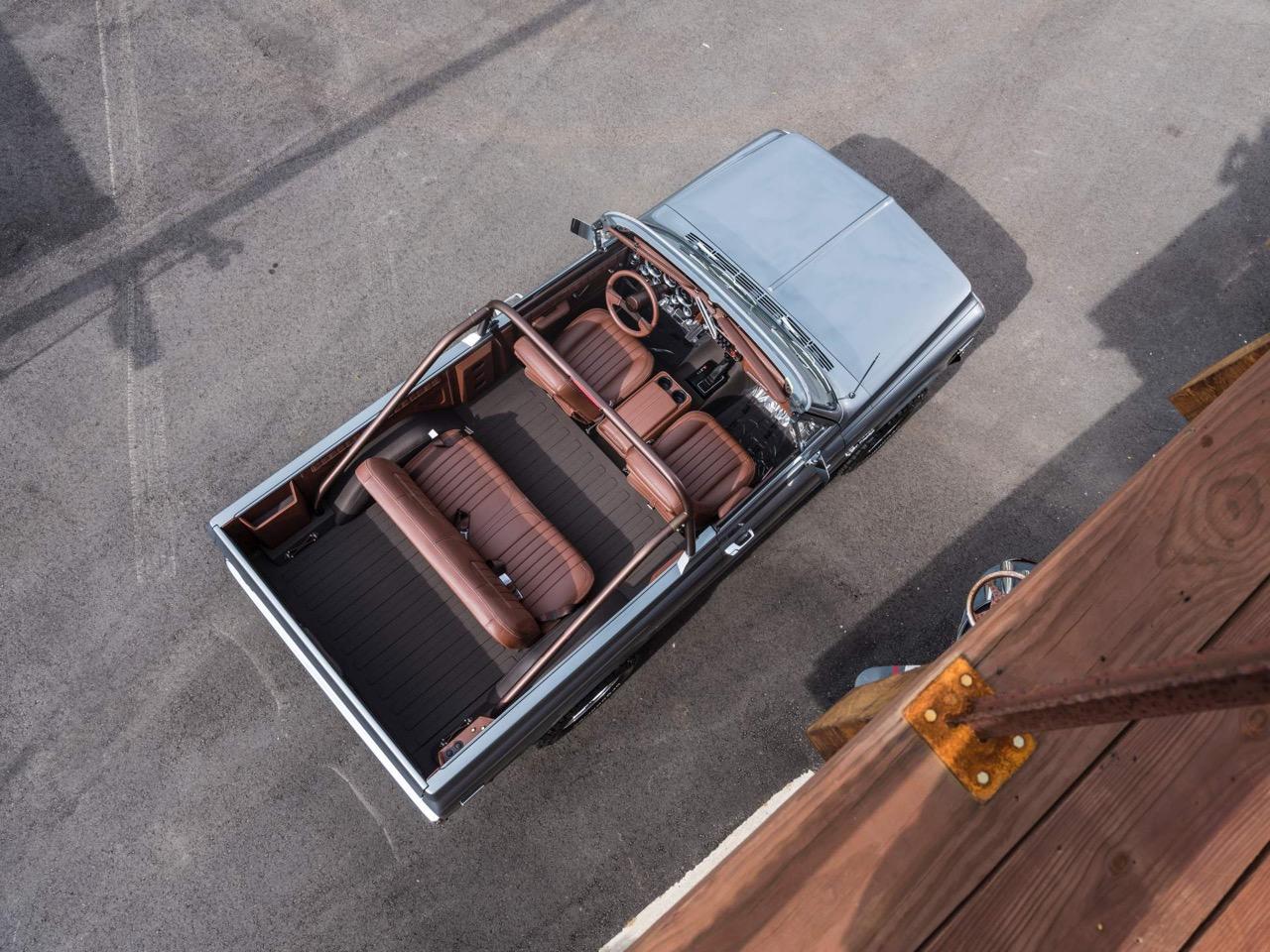 #SEMA : Ringbrothers '71 Chevy Blazer K3 - SUV en LS3 ! 20