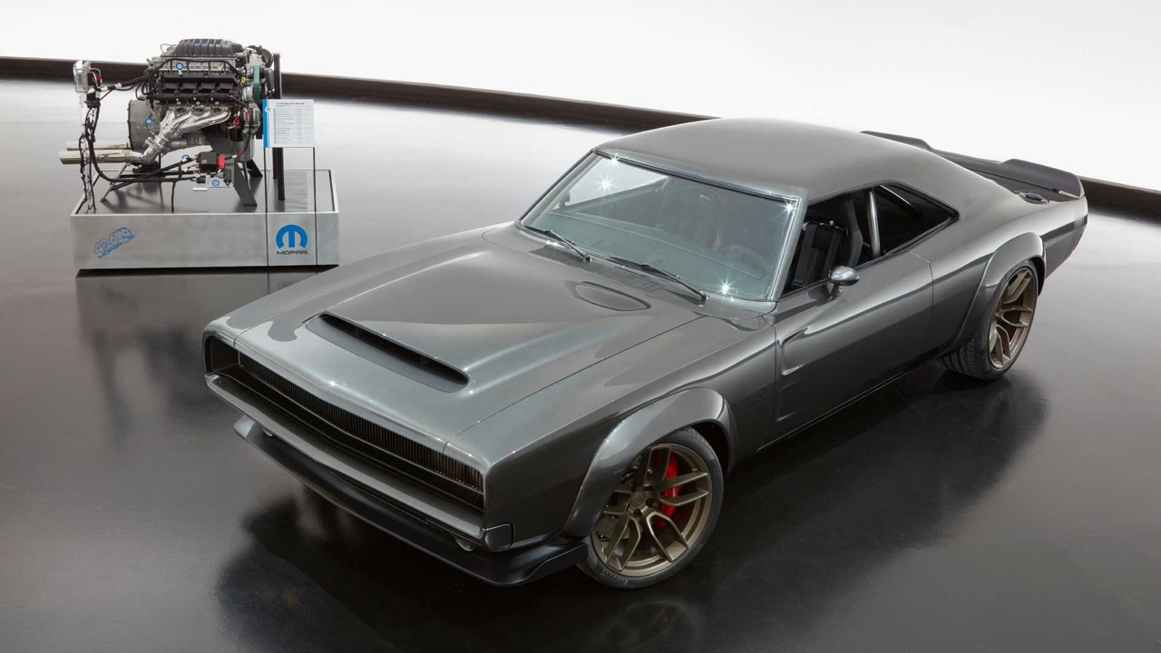 #SEMA : Mopar 426 Hemi... The Hellephant de 1000 ch dans une Dodge Charger ! 9