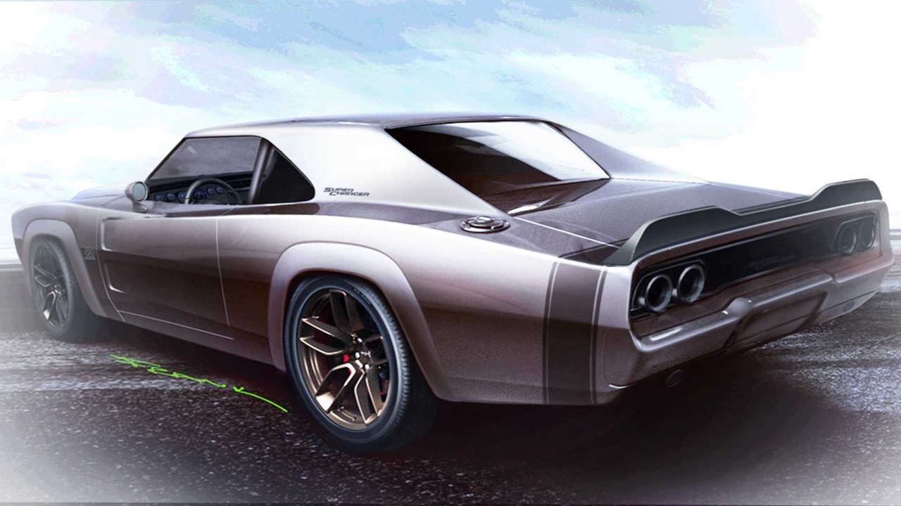 #SEMA : Mopar 426 Hemi... The Hellephant de 1000 ch dans une Dodge Charger ! 12