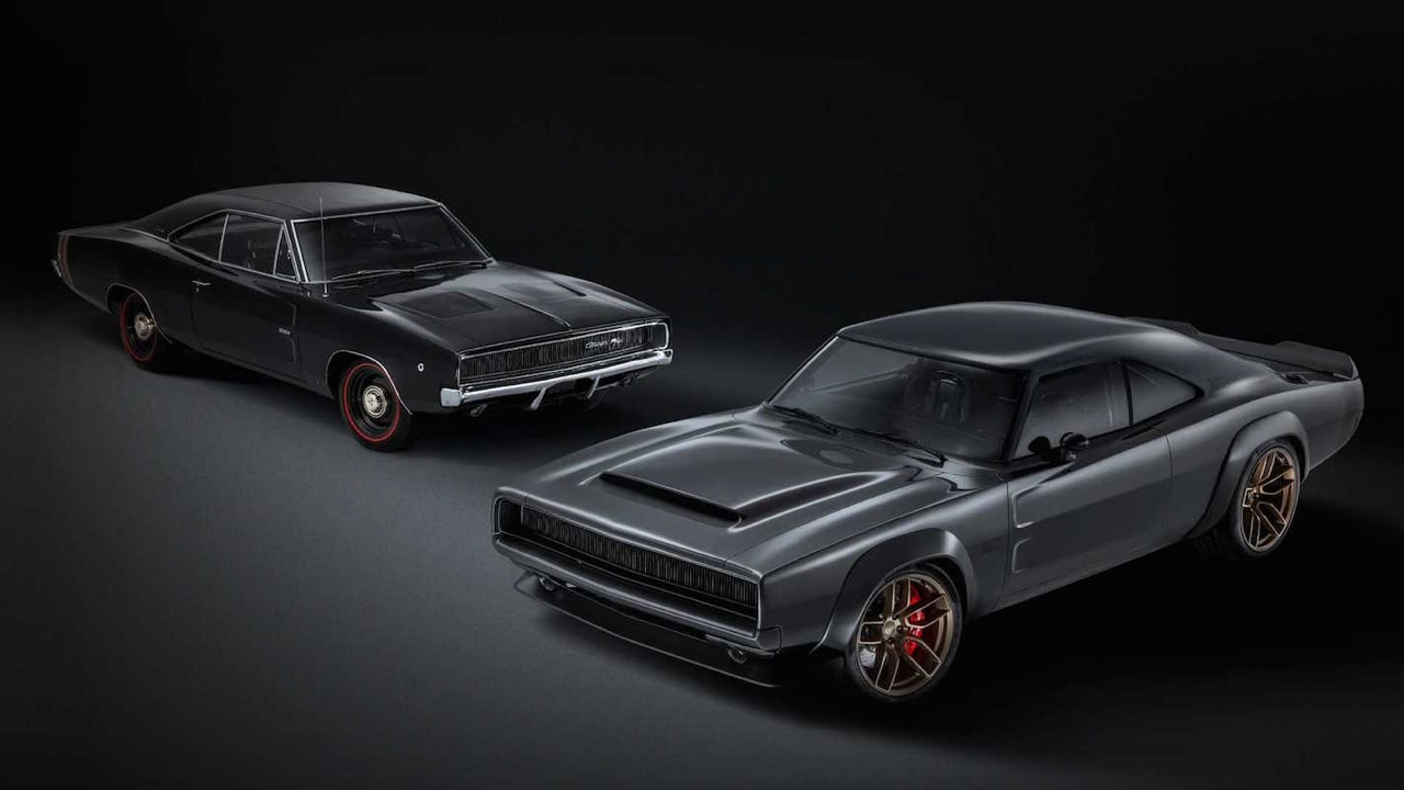 #SEMA : Mopar 426 Hemi... The Hellephant de 1000 ch dans une Dodge Charger ! 1