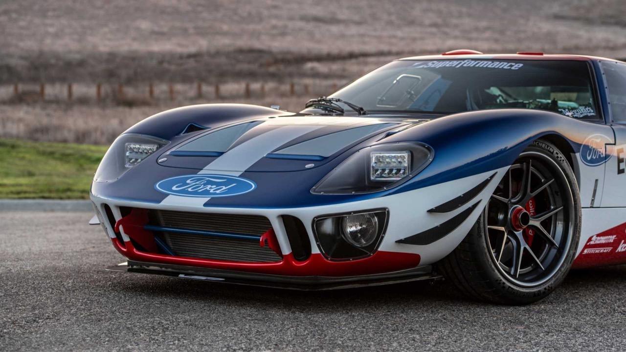 #SEMA : Ford GT40 V6 EcoBoost Superformance... Sacré mélange ! 30