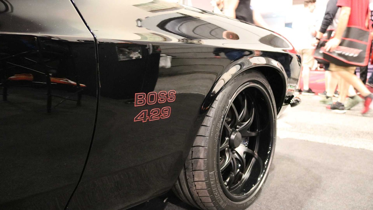#SEMA : Ford Mustang Boss 429... Classic Recreations s'offre la licence officielle ! 14