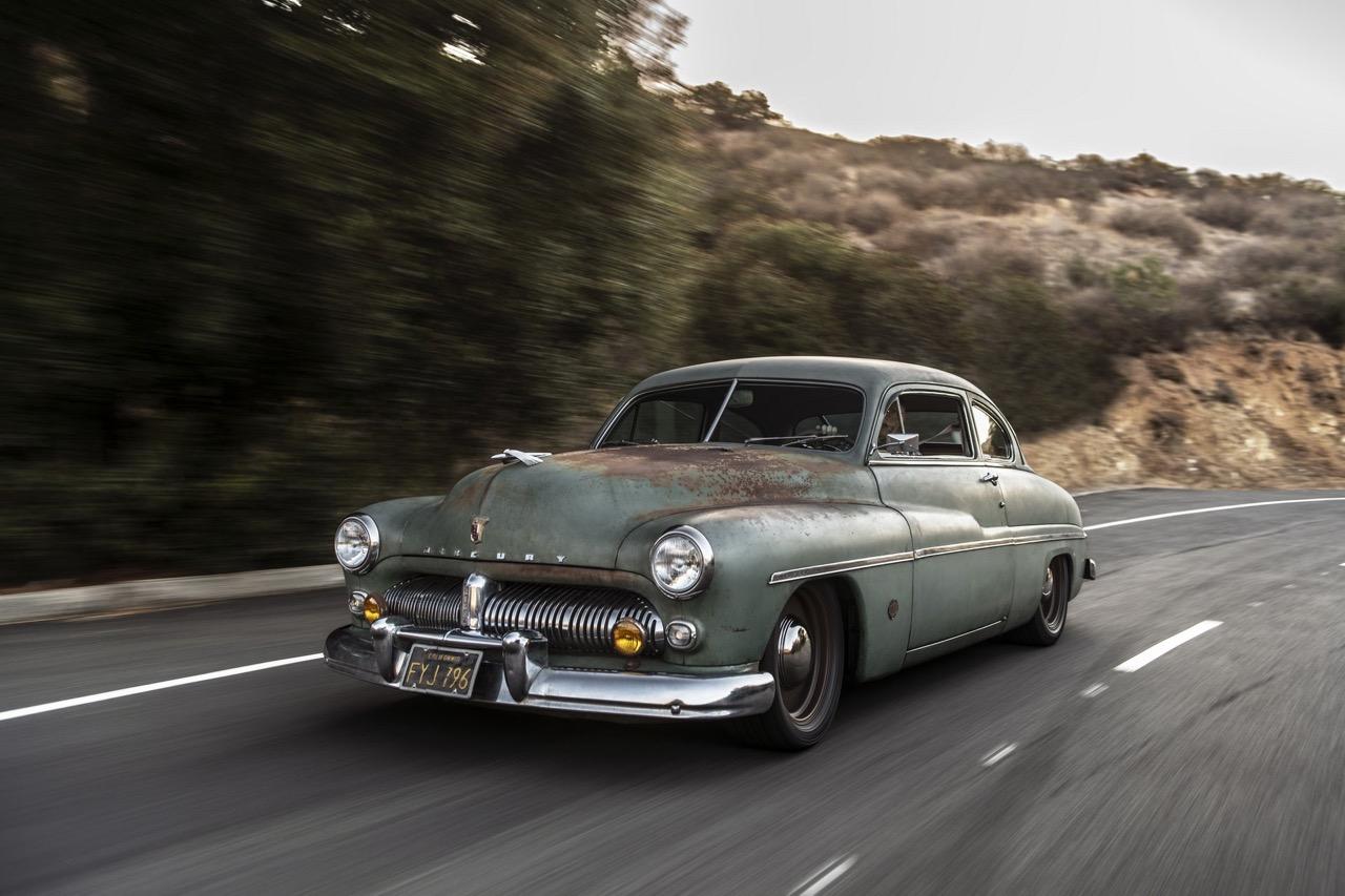 #SEMA : Icon '49 Coupé Mercury... Swappé en Tesla ! 1