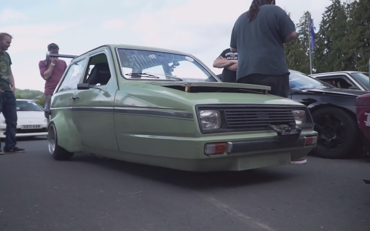 "HillClimb ""Monsters"" : Reliant Rialto Swap CBR 1000... On ne rigole pas ! 1"