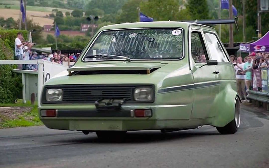 "HillClimb ""Monsters"" : Reliant Rialto Swap CBR 1000… On ne rigole pas !"