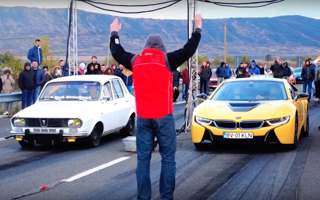 Dacia 1300 vs BMW i8… Old school ou new school ?!