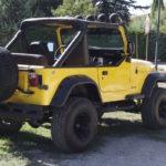 '82 Jeep CJ-7 Laredo - Quand tu te fais chier sur la route...