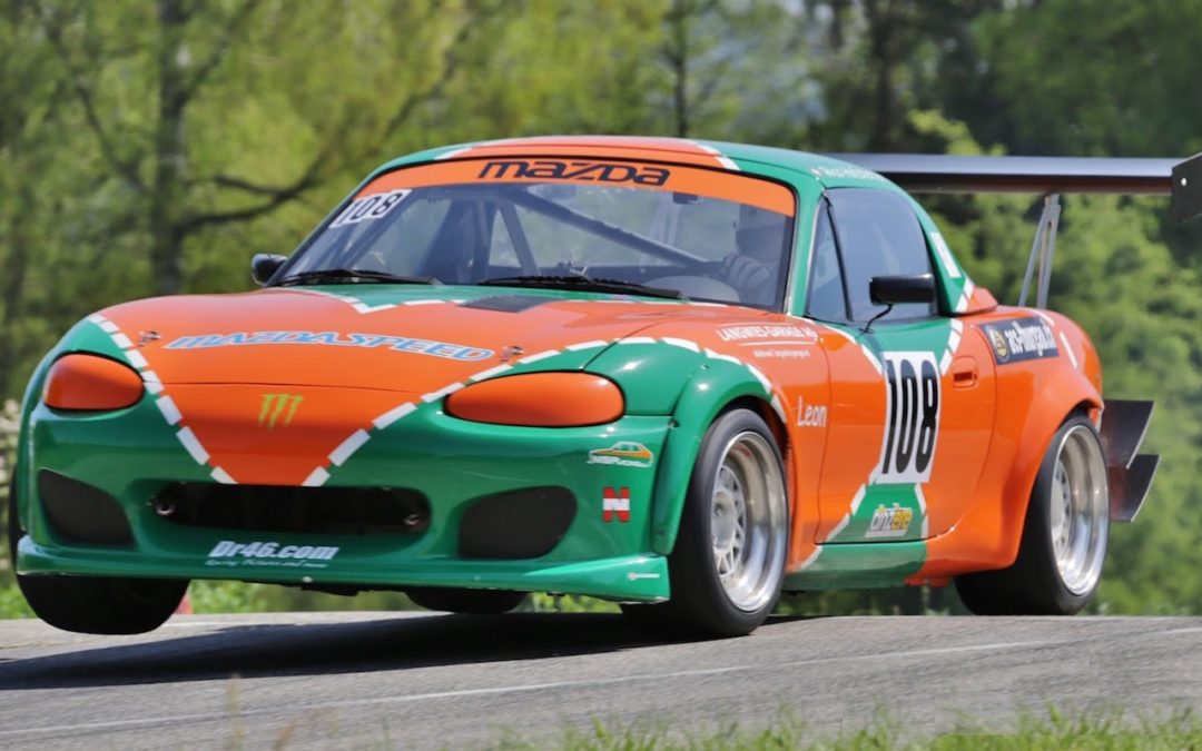 Hillclimb Monster : MazdaSpeed MX5 – Hommage à la 787B