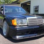 Mercedes 190 E 63 AMG Evo II… Frankestein Benz !