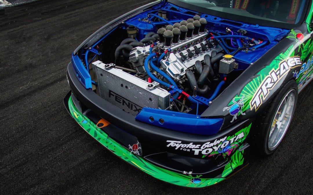 Une Nissan S14 en V12…?! Oui, ça existe !