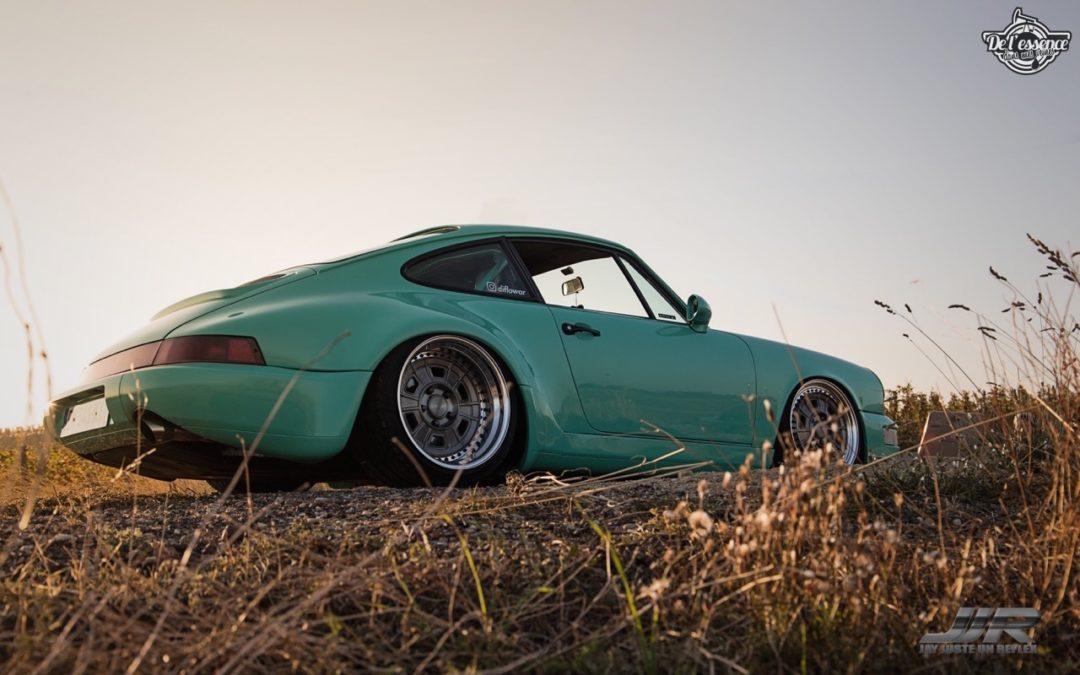 La Porsche 964 de Flow – Grenouille sur Air !