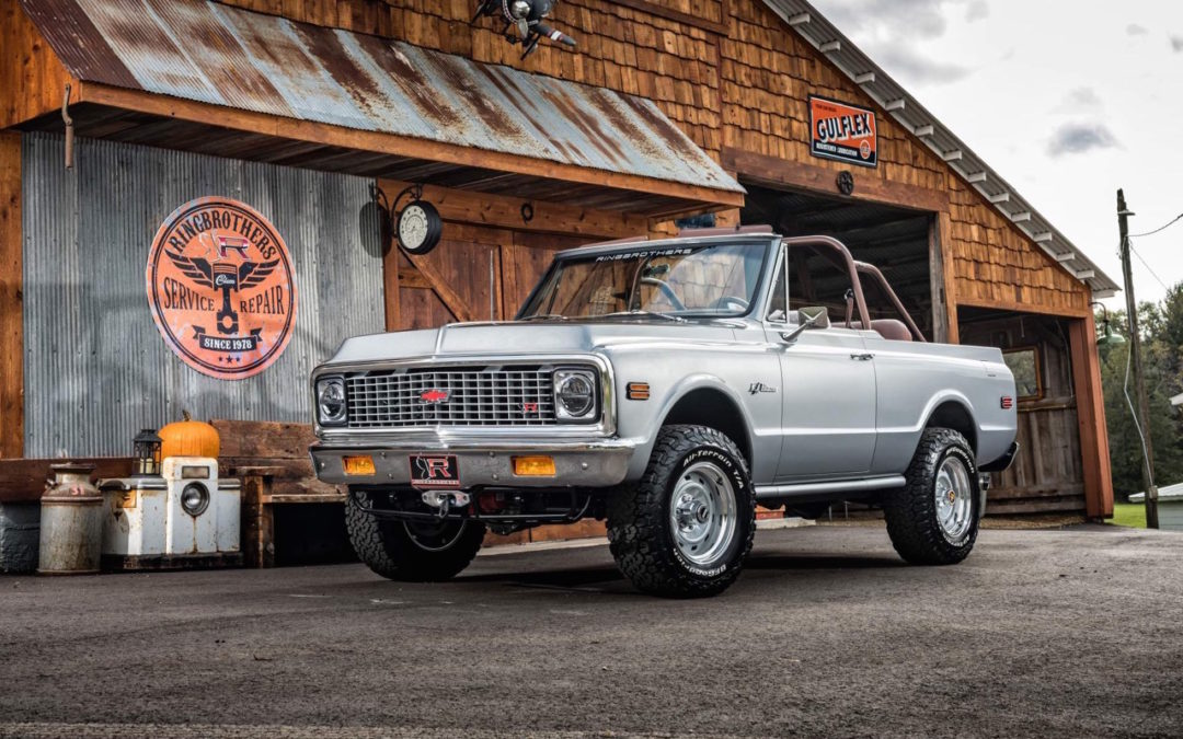 #SEMA : Ringbrothers '71 Chevy Blazer K3 – SUV en LS3 !