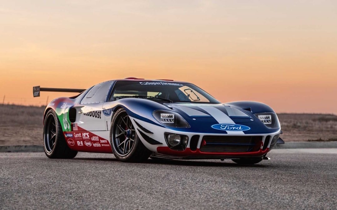 #SEMA : Ford GT40 V6 EcoBoost Superformance… Sacré mélange !