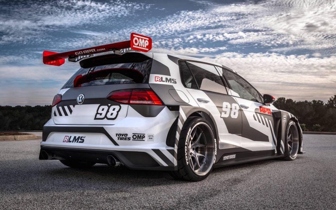 #SEMA : VW Golf R LMS… Signée APR !