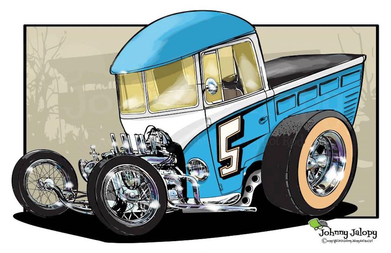 #Petrolhead : Johnny Jalopy Wood - Hot Rod & Custom Kulture ! 23