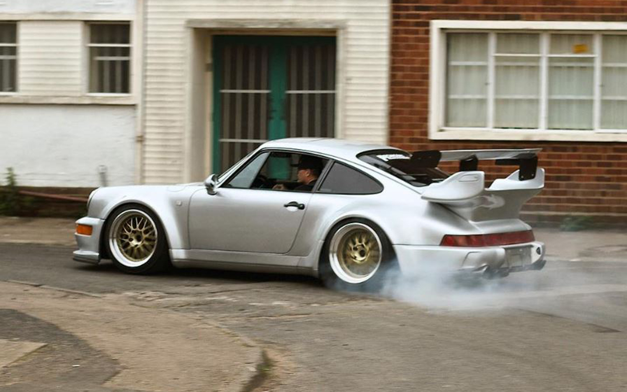 Hillclimb Monster : Porsche 964 Turbo RWB (Enfin !) 42