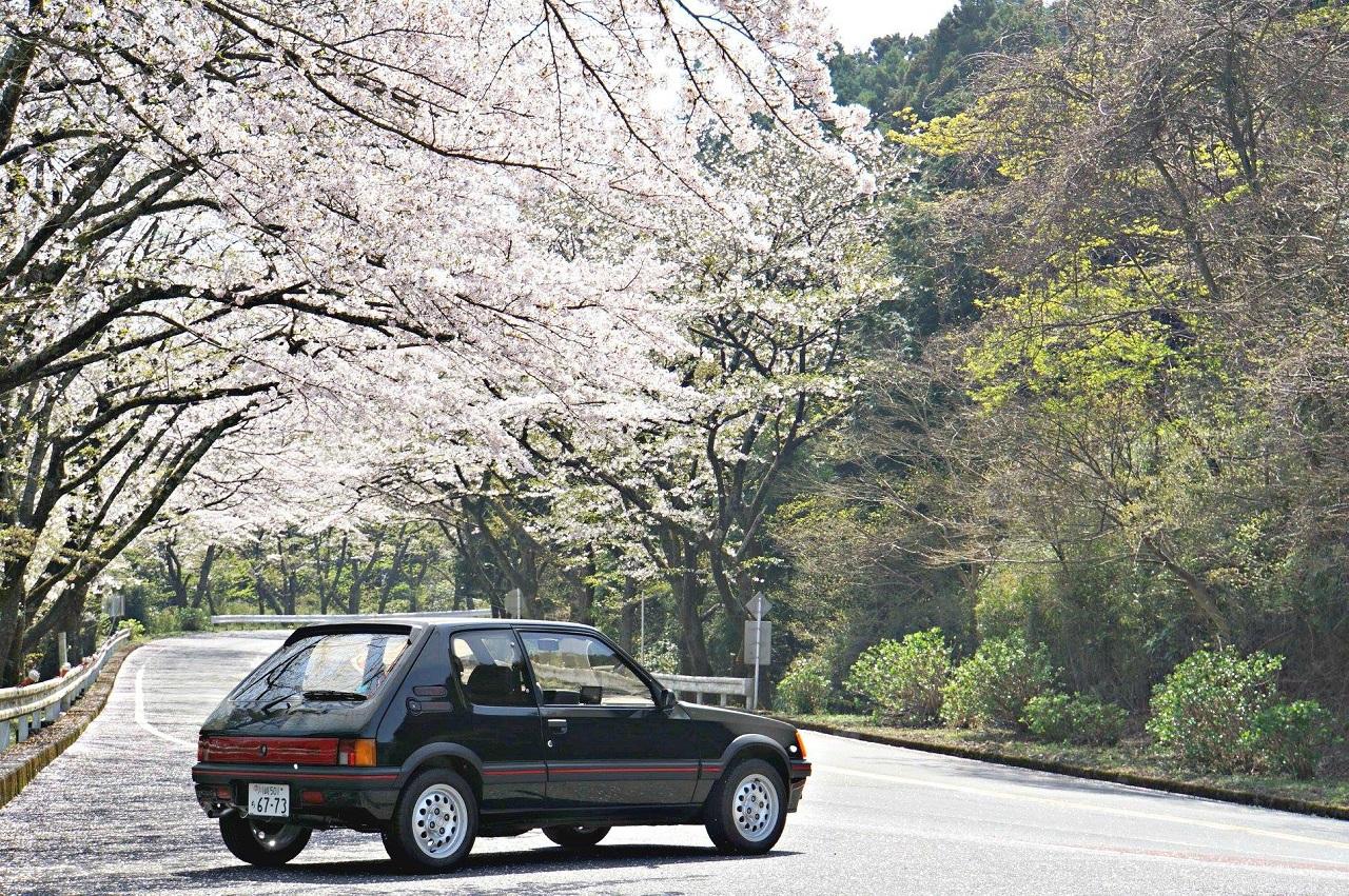 Une 205 GTI au Mont Fuji ! 1
