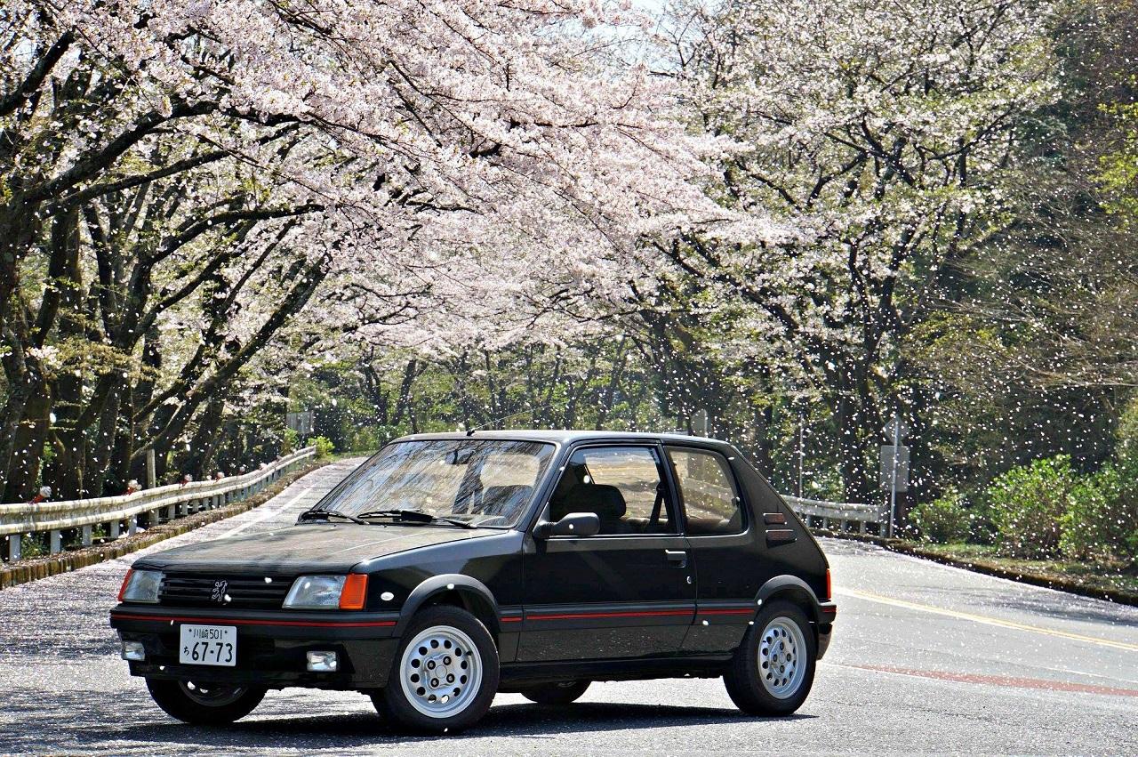 Une 205 GTI au Mont Fuji ! 2