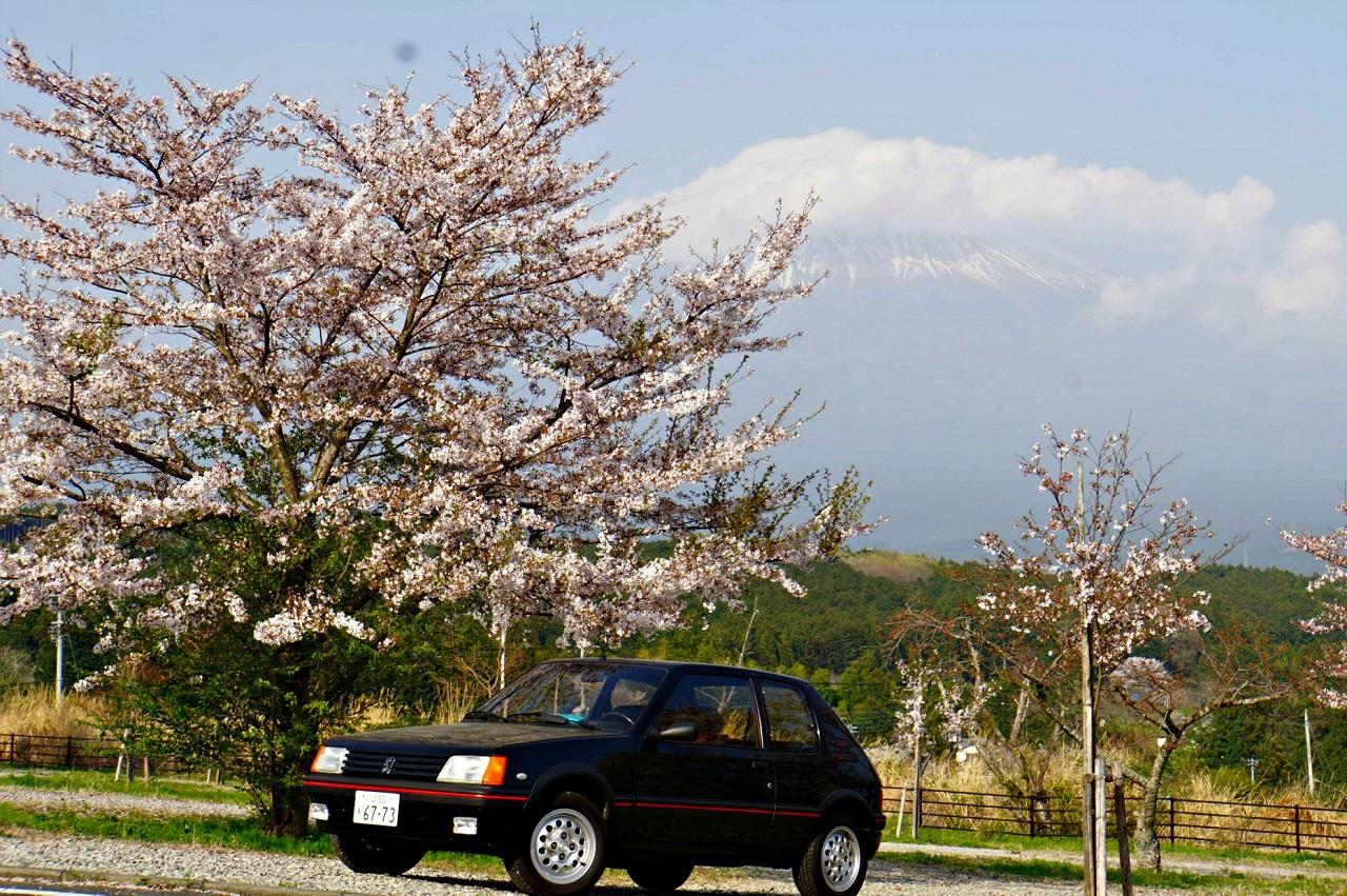Une 205 GTI au Mont Fuji ! 3