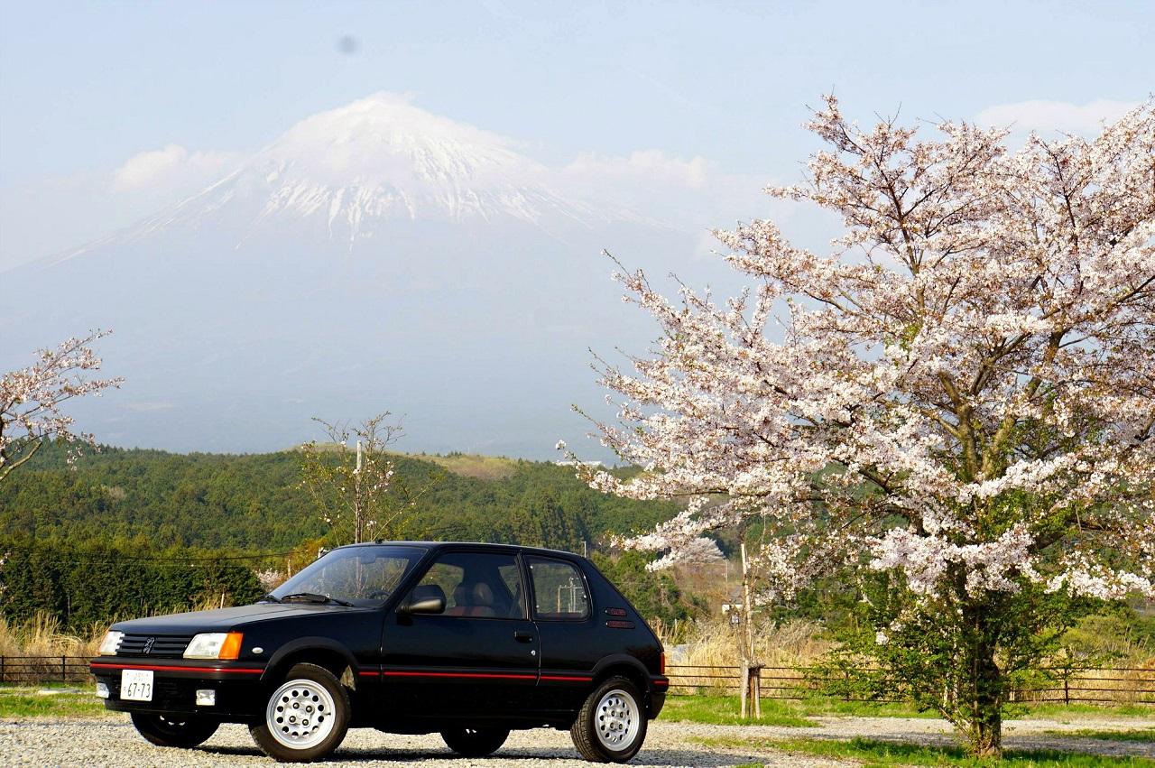 Une 205 GTI au Mont Fuji ! 4