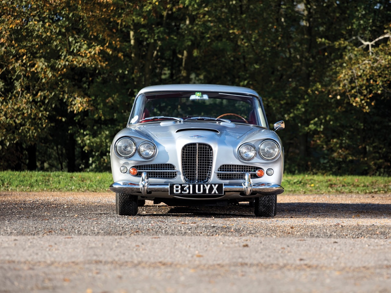 '62 Aston Martin Lagonda Rapide... Salon anglais ! 2