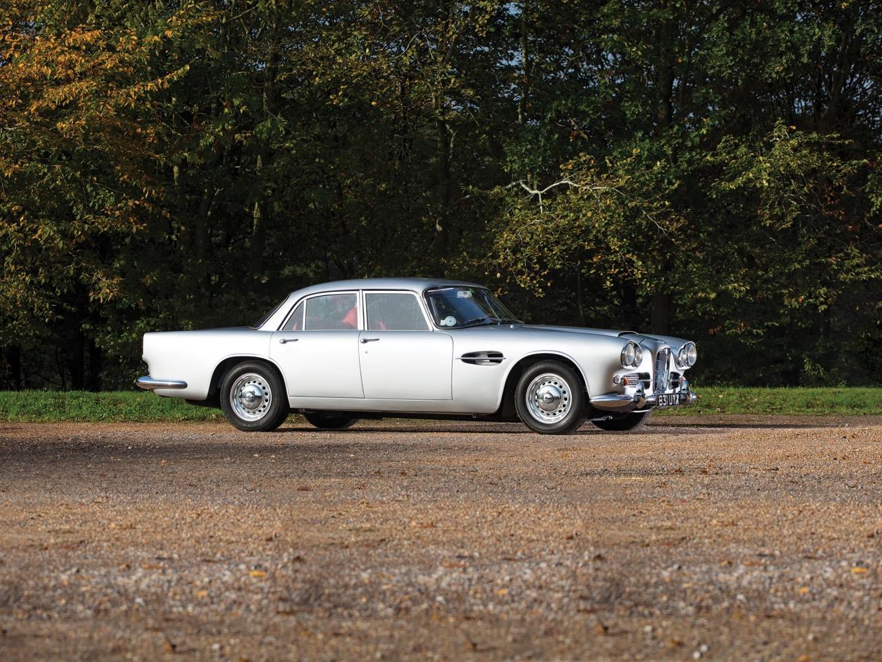 '62 Aston Martin Lagonda Rapide... Salon anglais ! 28