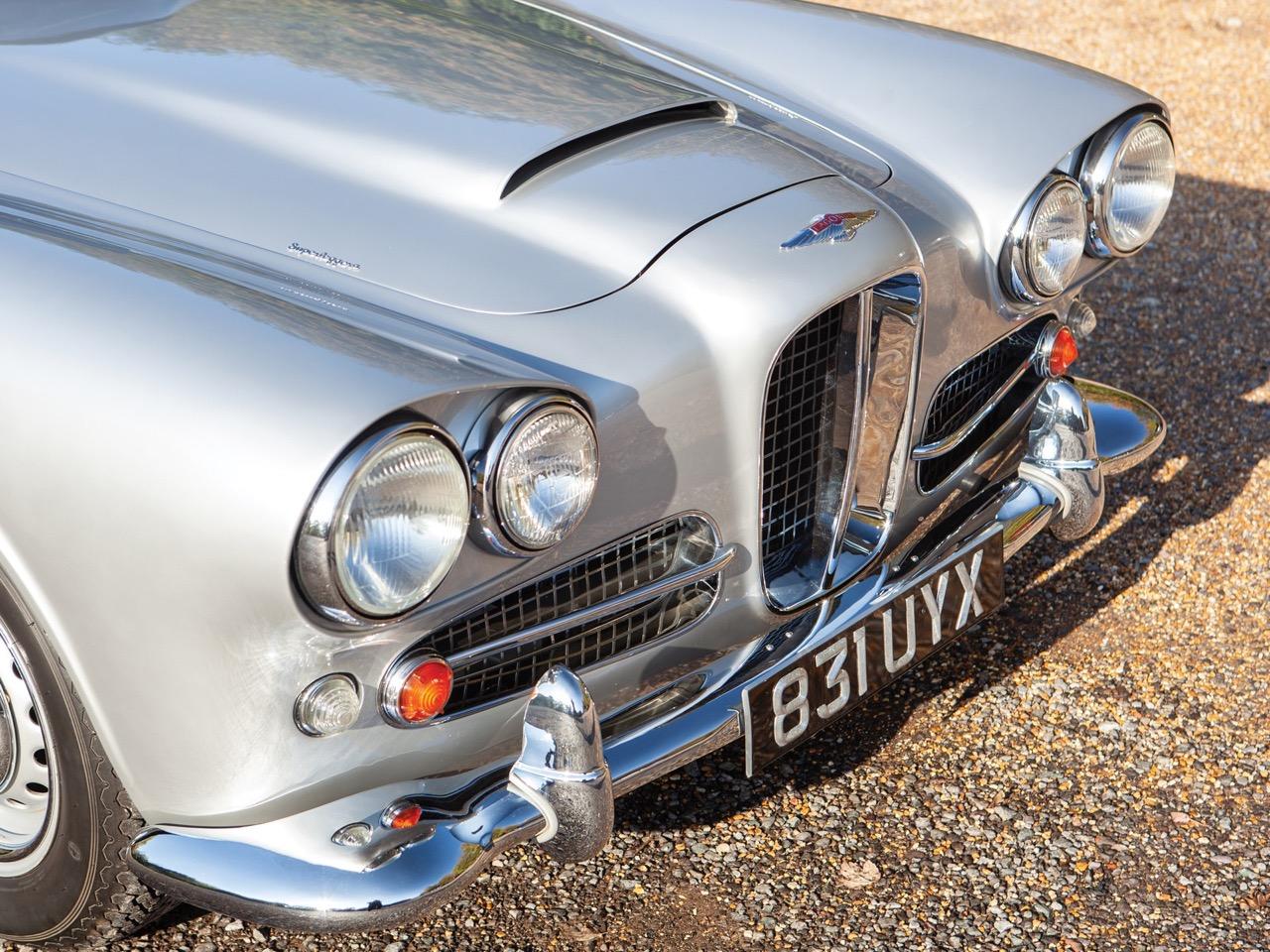 '62 Aston Martin Lagonda Rapide... Salon anglais ! 1