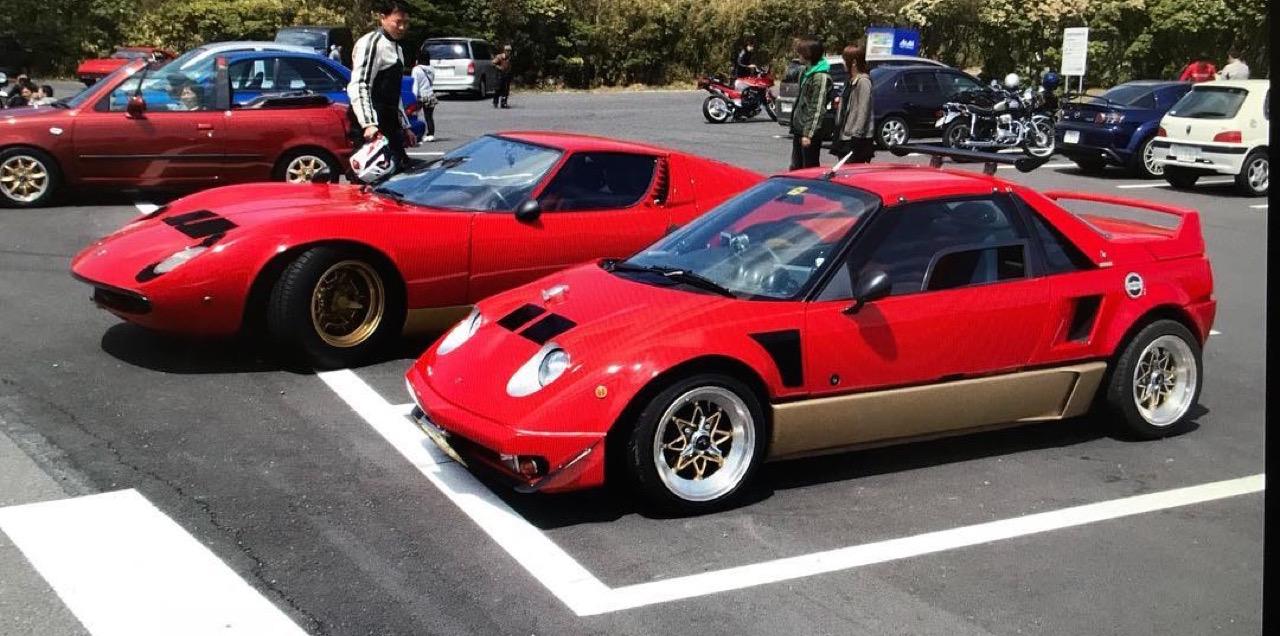 Autozam Miura... A moins que ce soit une Lamborghini AZ-1 ?! 86