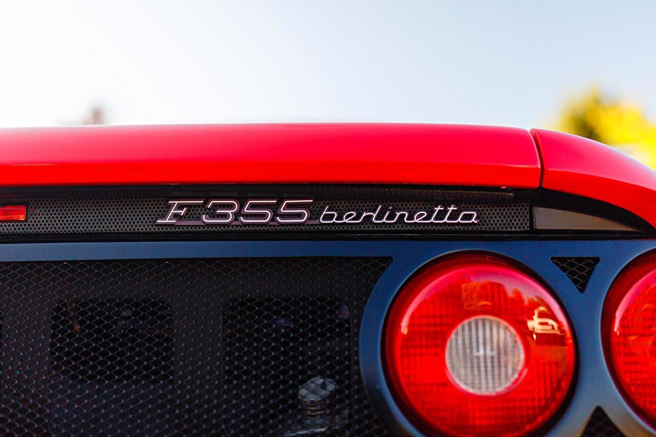 Ryan's Ferrari F355... Efficacité et sobriété ! 1
