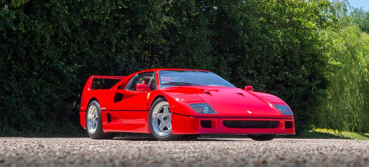 Engine sound : Ferrari F40 en mode décrassage de tympans ! 1
